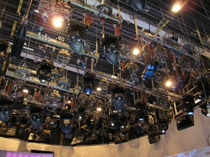 tv studio lights