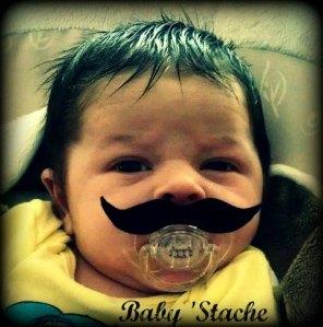 baby stache