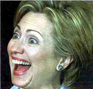 hillary laugh