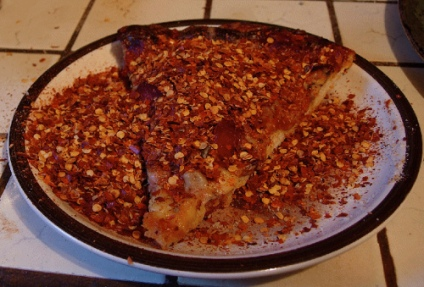 10 crushed red pepper pizza